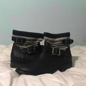Barely worn ankle boots